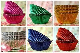cupcake liners foil