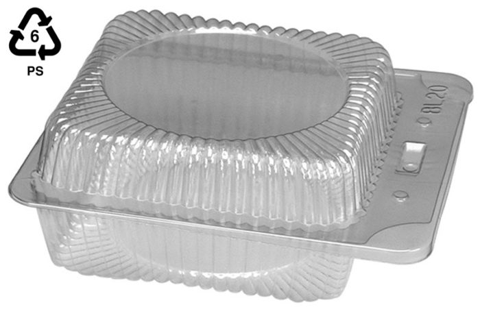 Acetate food containers