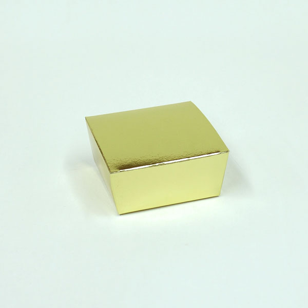 Truffle box 3x3x1-1:2 gold