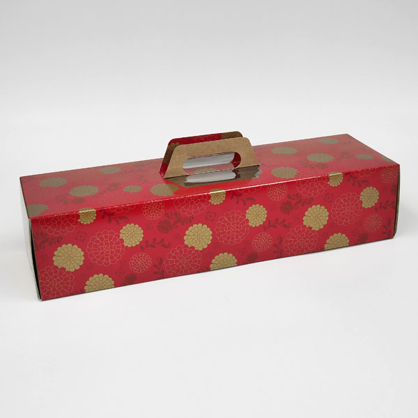 Whole roll tote box red